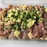 かしわ専門店サトー - 料理写真:地鶏のタタキ=800円