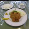 洋食入舟 - 料理写真:かきフライ ライス