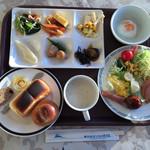 気仙沼プラザホテル - 料理写真:バイキングの朝食食です