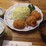 101342640 - ヒレかつ定食 2200円(税込)