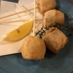 海鮮鉄板 やまおか食堂 - 里芋の唐揚げ