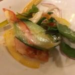 海鮮鉄板 やまおか食堂 - サラダ
