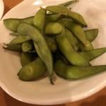 海鮮鉄板 やまおか食堂 - 枝豆