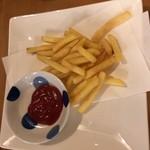 海鮮鉄板 やまおか食堂 - ポテトフライ