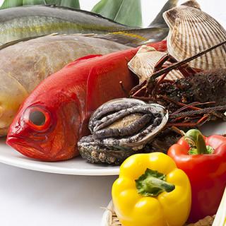 海鮮なども厳選した食材でご用意しております