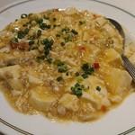 101349477 - 蟹肉と豆腐の辛味煮込み