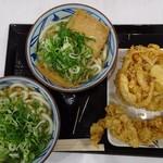 丸亀製麺 - かけ・きつね