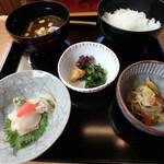 茶飯事 - 海老真丈膳¥1,700