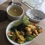 ソラシドキッチン - 料理写真:サラダ&スープバー
