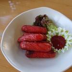チャイニーズレストランぴあ - 料理写真:赤ウィンナー