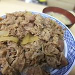 牛丼専門サンボ - 初めまして。大盛さん‼️(ウッップ‼️)