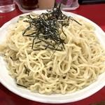 桃天花 - 坦々つけ麺の中太ちぢれ麺