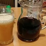 ガスト - 炭酸オレンジと赤ワイン