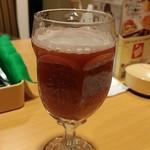 ガスト - 赤ワインの炭酸オレンジ割