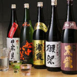 日本中から厳選した美酒・銘酒