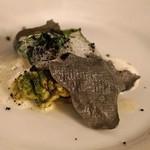 レストラン アロム - 鱈の白子のムニエル