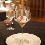 レストラン アロム - 苺の紅ほっぺのパフェ