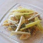 ナチュラーレ - ミル貝のスモークと山菜のカルボナーラ 四川山椒の香りを添えて