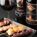Pollo - 焼きとりとワイン