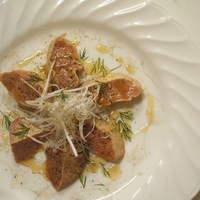 Pollo - 白レバのカルパッチョ