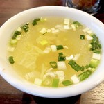 Thai Restaurant BASIL - チキンコンソメスープ