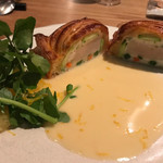 LA BONNE TABLE - 帆立貝と豆のパイ包み