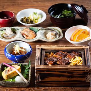 せいろ蒸し&有明海の魚介類を贅沢に。ぶらり膳がおすすめです