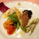 ピッツェリア・サバティーニ - ピッツエリア風前菜の盛り合わせ
