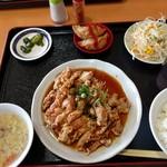 カイシンゲン - 油淋鶏ランチ650円