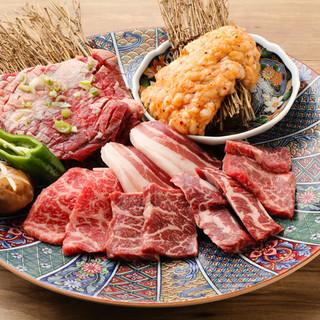 『こだわりのタレ焼肉と冷麺』
