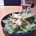 個室×地鶏串屋 園の子 - サラダ1