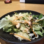 個室×地鶏串屋 園の子 - サラダ3