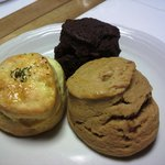 ジャーダン - キャラメルスコーン、クリームチーズスコーン、チョコレートスコーン