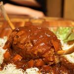 イベリコ豚おんどる焼 裏渋屋 - ハンバーグ