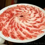 イベリコ豚おんどる焼 裏渋屋 - すき焼き