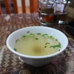 メッタ - 鶏出汁のスープ