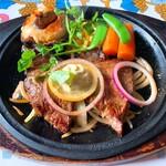 レストラン ボルドー - 料理写真:ヒレうすぎりステーキ