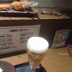 串揚げ処 味串 - 串各種①・生ビール