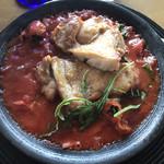 ブルーバード - ハーブチキングリルのトマトソース