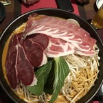 うまいもん屋 清野 - 料理写真:ピリ辛の鍋