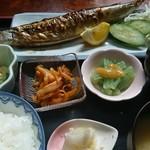 いろり亭 - 料理写真:さんま定食800円