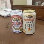アオキーズピザ - ドリンク写真:ビール