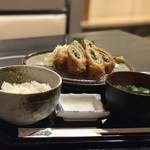 花みずき - 料理写真:梅しそカツ膳