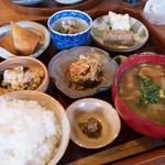 たくみの里食堂 - 料理写真:たくみの里定食