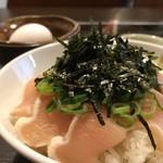 101378502 - 鶏たたき丼