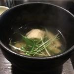 101378504 - 鶏節スープ