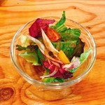 Cafe 湘南テラス - ランチのサラダ