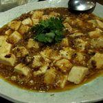 北京料理 桃源門 - 麻婆豆腐(800円)