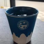 富士山 LAVA CAFE - コップも逆さ富士