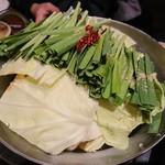 木村屋本店 - モツ鍋